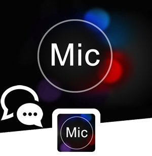 application Voice Dictation Voice to Text logo