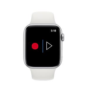Voice recorde free application on Apple Watch